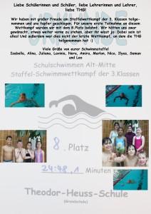 Schwimmstaffelwettkampf 3a3b 2014 Kopie